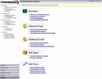 SecurityGateway: Reports screen shot